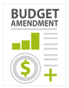 Budget Amendment