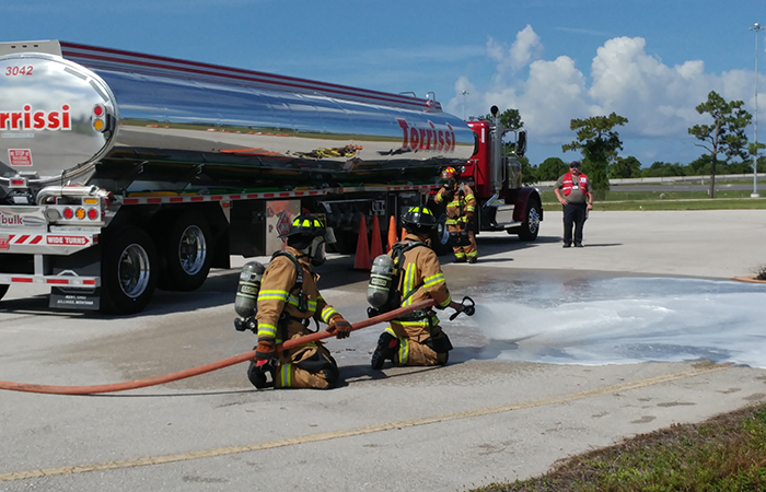 LEPC Haz Mat Training Exercise
